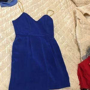 Royal blue Naven heartthrob dress